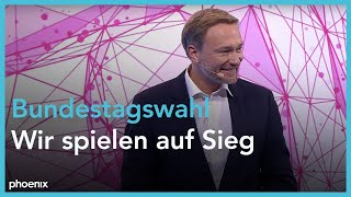 FDP- Parteitag: Rede Christian Lindner