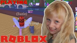 ROBLOX 🍍 Adopt Me. PLAYING WITH MY CAT (fr) SuzieGamePlay SuzieGamePlay