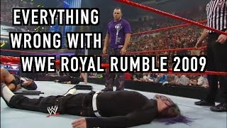 Episode #211: Everything Wrong With WWE Royal Rumble 2009