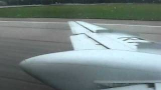 Tu-134, takeoff