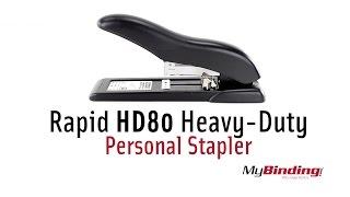 видео Степлер Rapid HD110