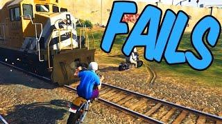 FAILS - GTA 5 Funny Moments