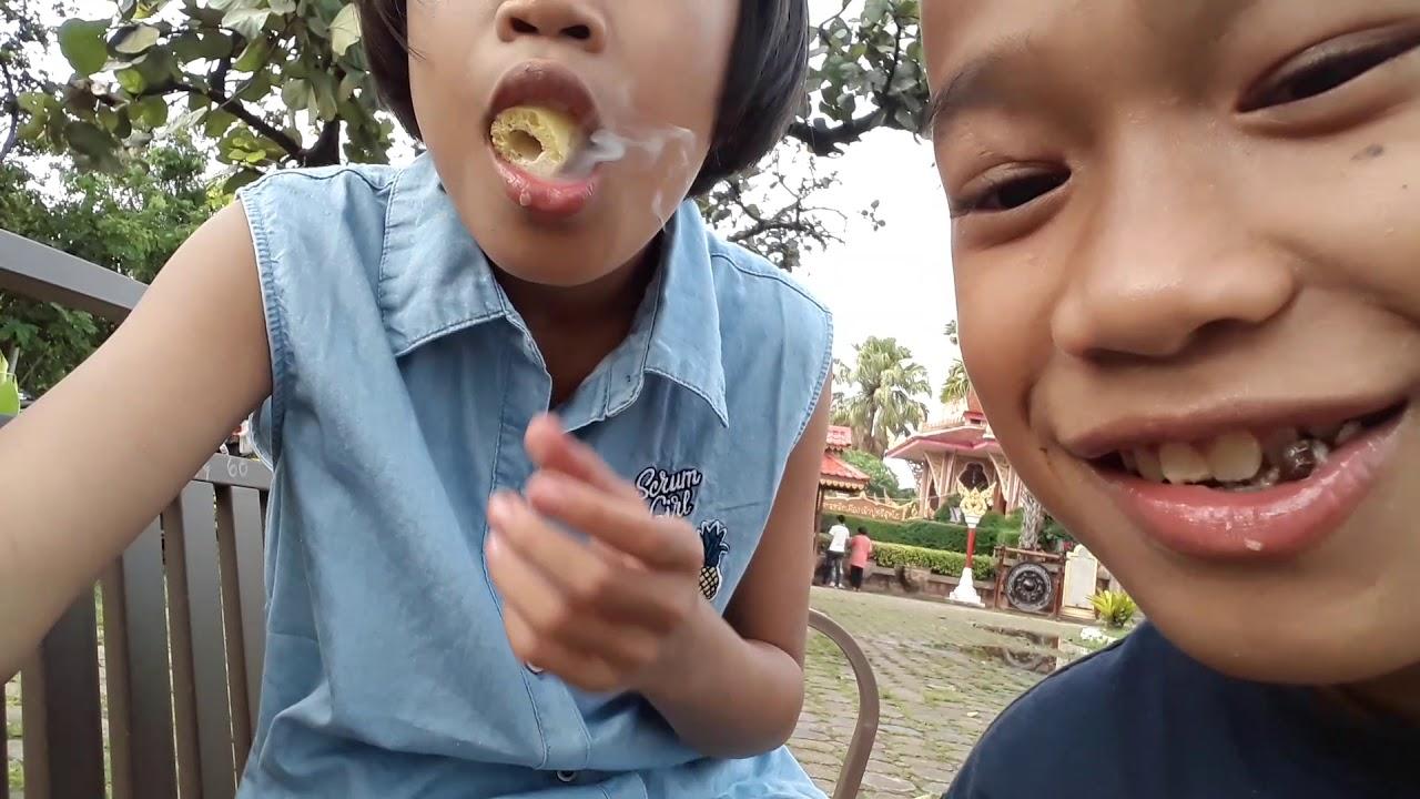 กินขนมควัน