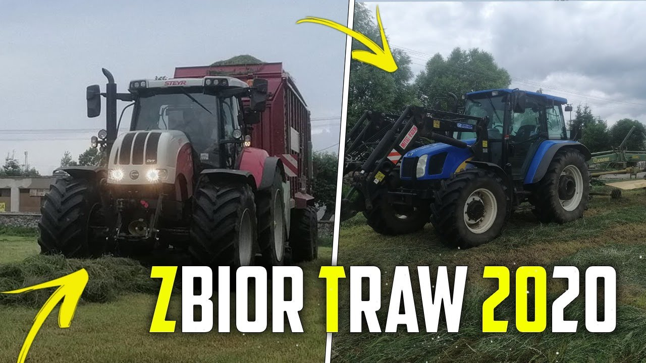 Zbiór traw ☆ Steyr i strautmann?✔ Mega pompa☆