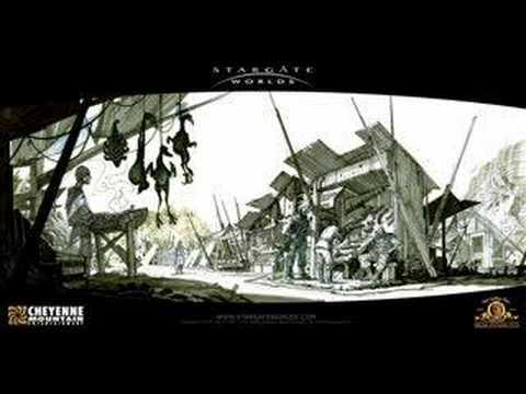 Stargate Worlds MMORPG Concept Art Teaser