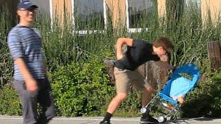 Public Trollin: Beating Baby Prank!