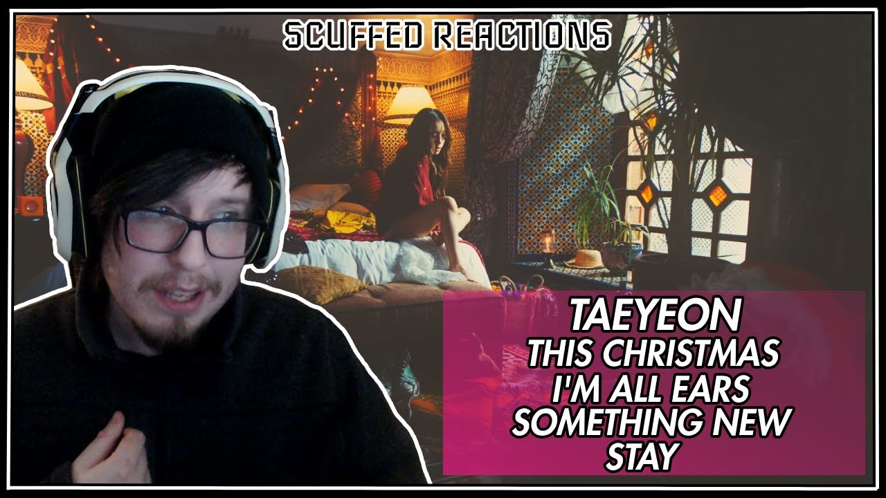 KJourney with Taeyeon: This Christmas / I'm all ears / Something New / Stay MV | Reaction