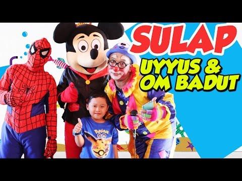 MAIN SULAP LUCU -  Badut  Ulang Tahun Anak Lucu ✿ Uyyus Fun Video