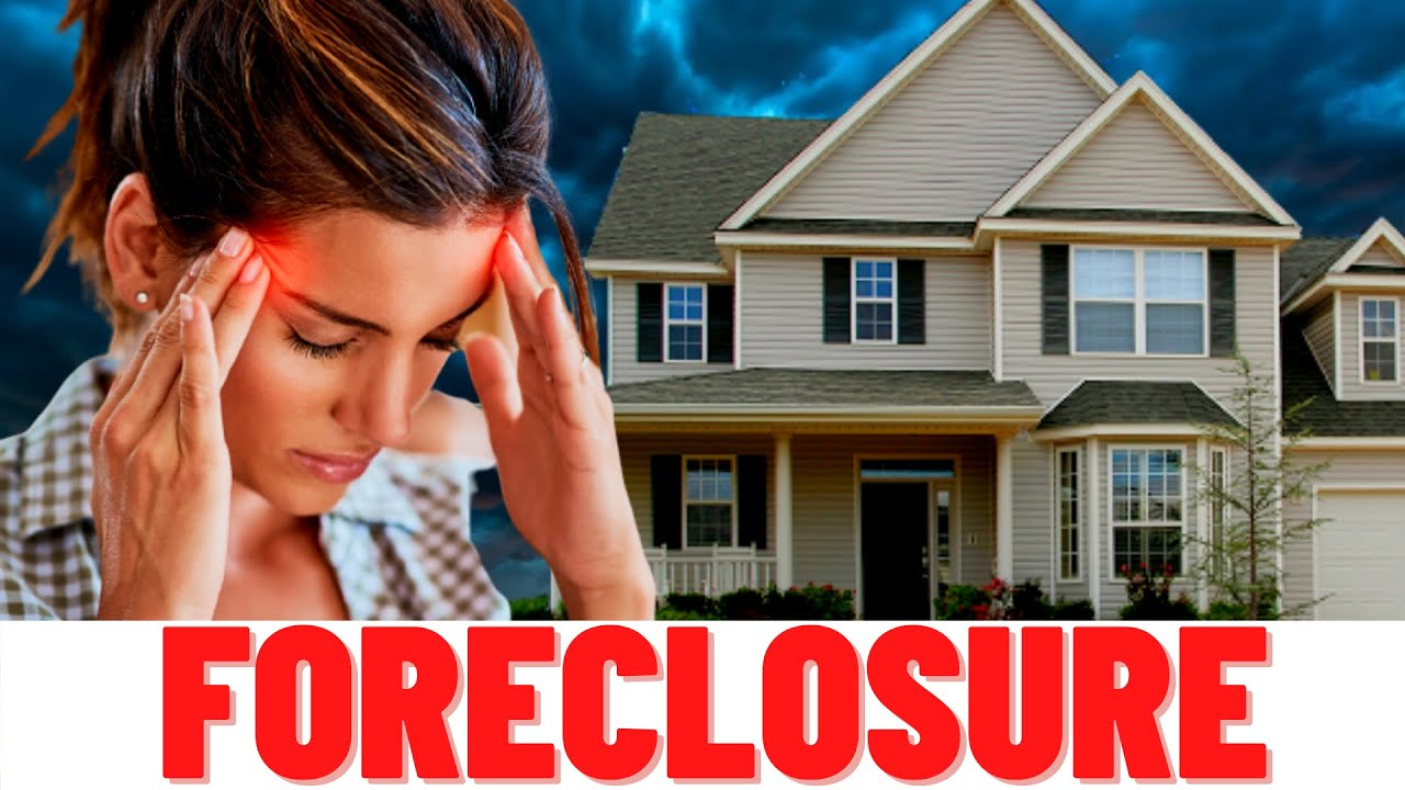7 Tips On How To AVOID A FORECLOSURE!