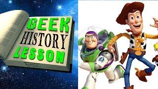 History of Pixar - Geek History Lesson