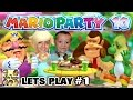 Lets Play MARIO PARTY 10! Bowser