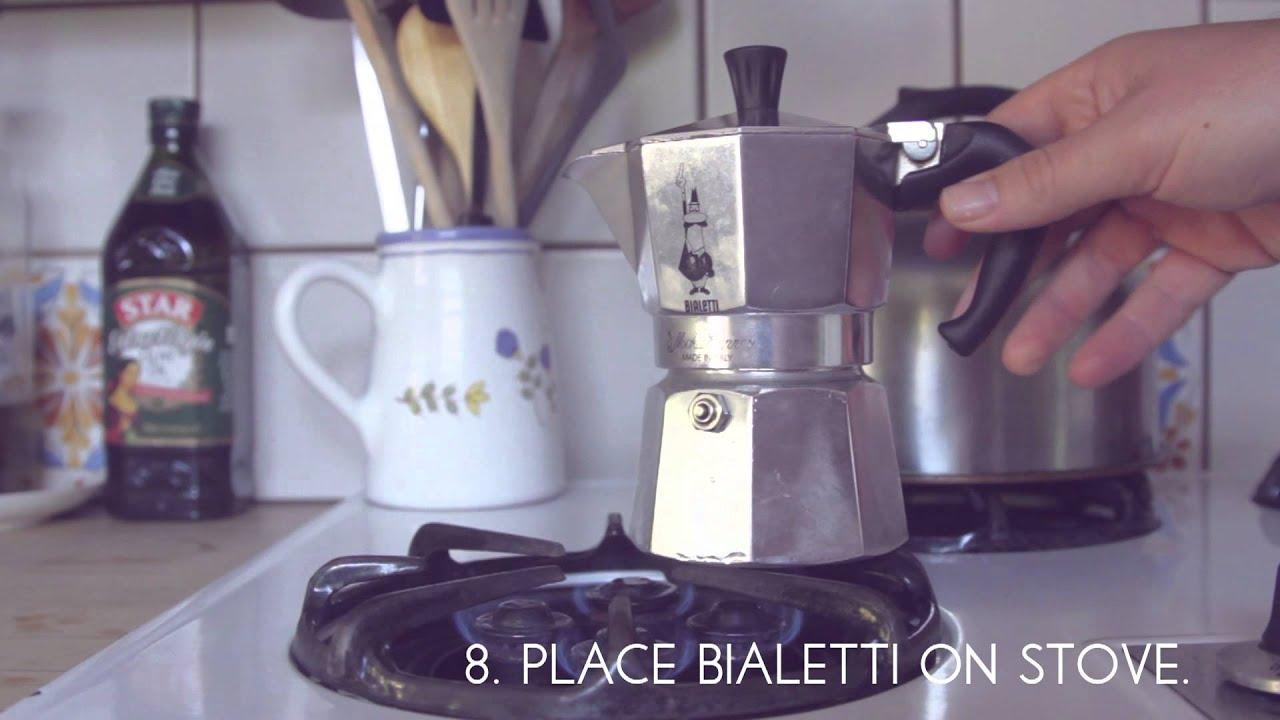 How To Use A Bialetti Italian Espresso