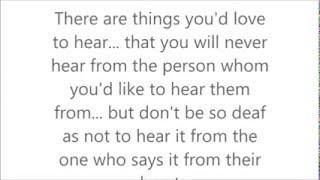 Love poem  MUST LISTEN