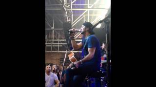 Luke Bryan - She Used To Be Mine (Brooks and Dunn) at Fan Club Party 2012 in Nashville, TN 6/7/12