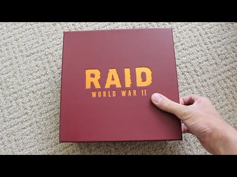 [Raid WWII] Unboxing a package