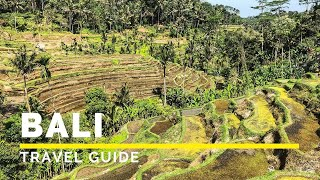 BALI INDONESIA Travel Guide in 4K (2019) | Happy Trip