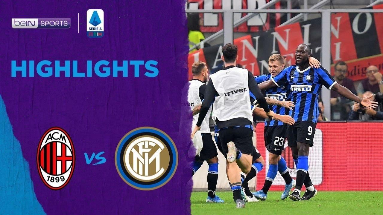 เอซี มิลาน 0-2 อินเตอร์ มิลาน | เซเรีย อา ไฮไลต์ Serie A 19/20