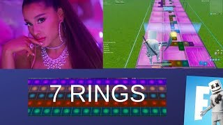 7 RINGS - ARIANA GRANDE (Fortnite Music Blocks Remake) [With Code]