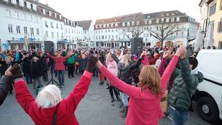 One Billion Rising 2018 Saarbrücken