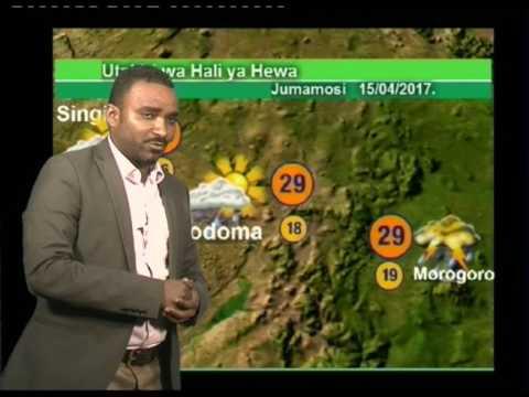Tanzania Weather Forecast  14/04/2017