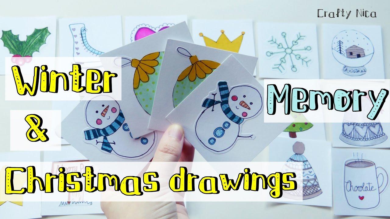 Christmas Craft Make Your Own Card Game With Christmas