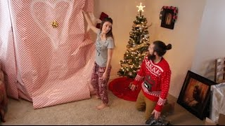 Husband surprises wife with HUGE Christmas gift!