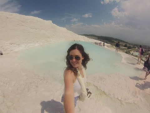 Pamukkale Turkey with Topdeck Travel VLOG