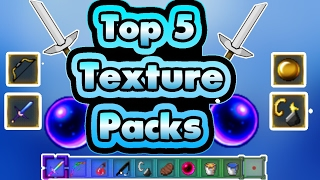 MCPE TOP 5 TEXTURE PACKS! WORKS FOR MCPE 0.16.x-1.0.7+