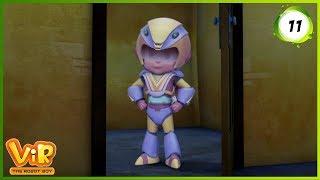 Vir: The Robot Boy | The Turtle Alien | Action Show for Kids | 3D cartoons