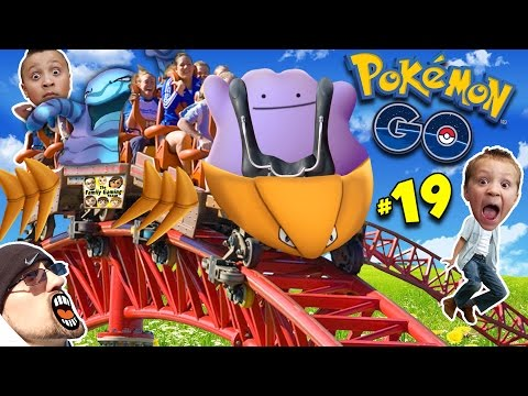 ♪ POKEMON GO DITTO SONG ♬ + Kabutops Roller Coaster NEW EVOLUTIONS! (FGTEEV Update Gameplay #19) Mp3
