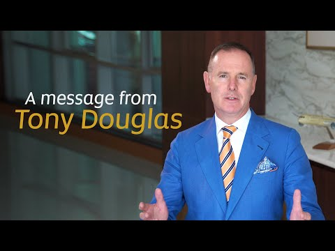 A Message from Group CEO Tony Douglas | Etihad Airways