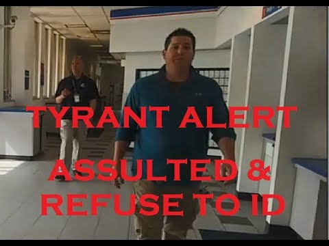 ASSAULTED BY FEDERAL EMPLOYEE - 1st Amendment Audit - REFUSAL TO ID