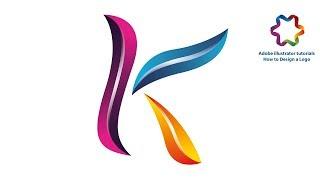 illustrator tutorial-erstellen Sie einen Brief K-logo im 3D-Stil von Anfang bis Ende