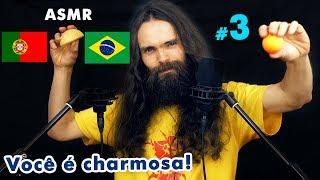 My third ASMR video in Portuguese (Brazilian) (Sussurros, Português, Para Relaxar, a few triggers)