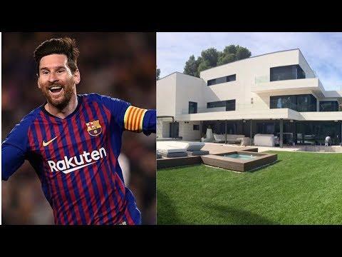 As mansões dos jogadores famosos de futebol