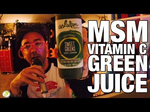 VITAMIN C, MSM, AND GREEN JUICE: AN IN-DEPTH EXPLORATION