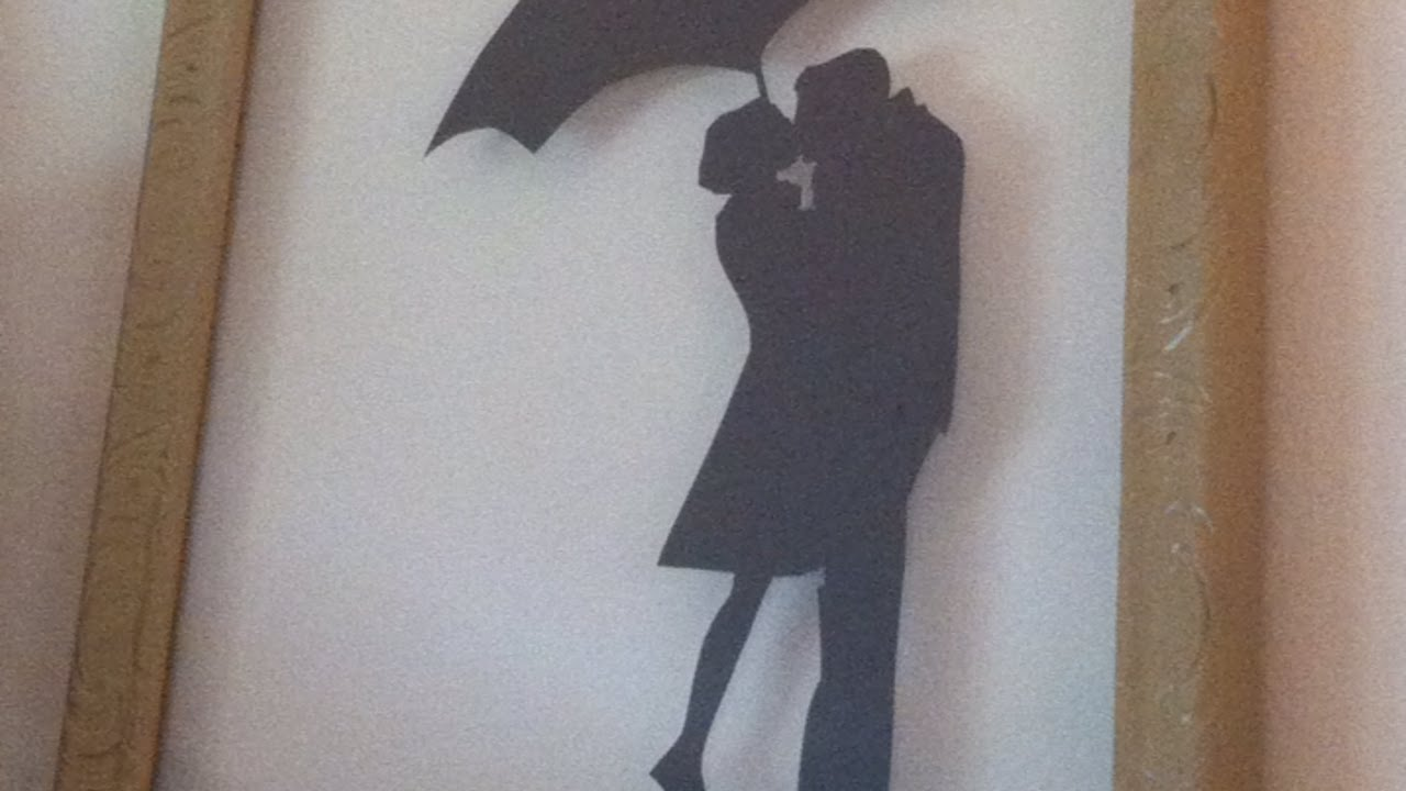 How To DIY Silhouette Wall Art