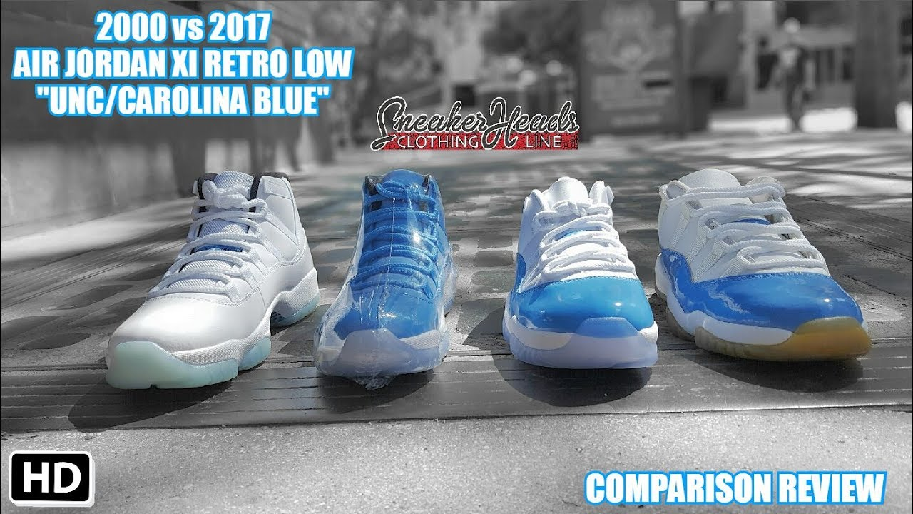 2000 vs 2017 AIR JORDAN 11 LOW