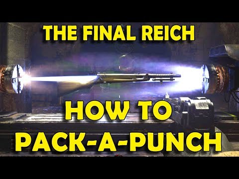 Call Of Duty WW2 - How To Unlock Pack-a-Punch (The Final Reich Zombies)