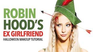 Robin Hood's Ex Girlfriend Halloween Makeup Tutorial