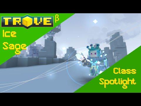 Ice Sage Class Spotlight! || Trove Beta! 60fps!