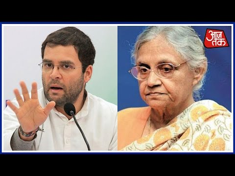 Rahul Gandhi In The Soup As Sheila Dikshit Trashes His Corruption Charges Against PM Modi