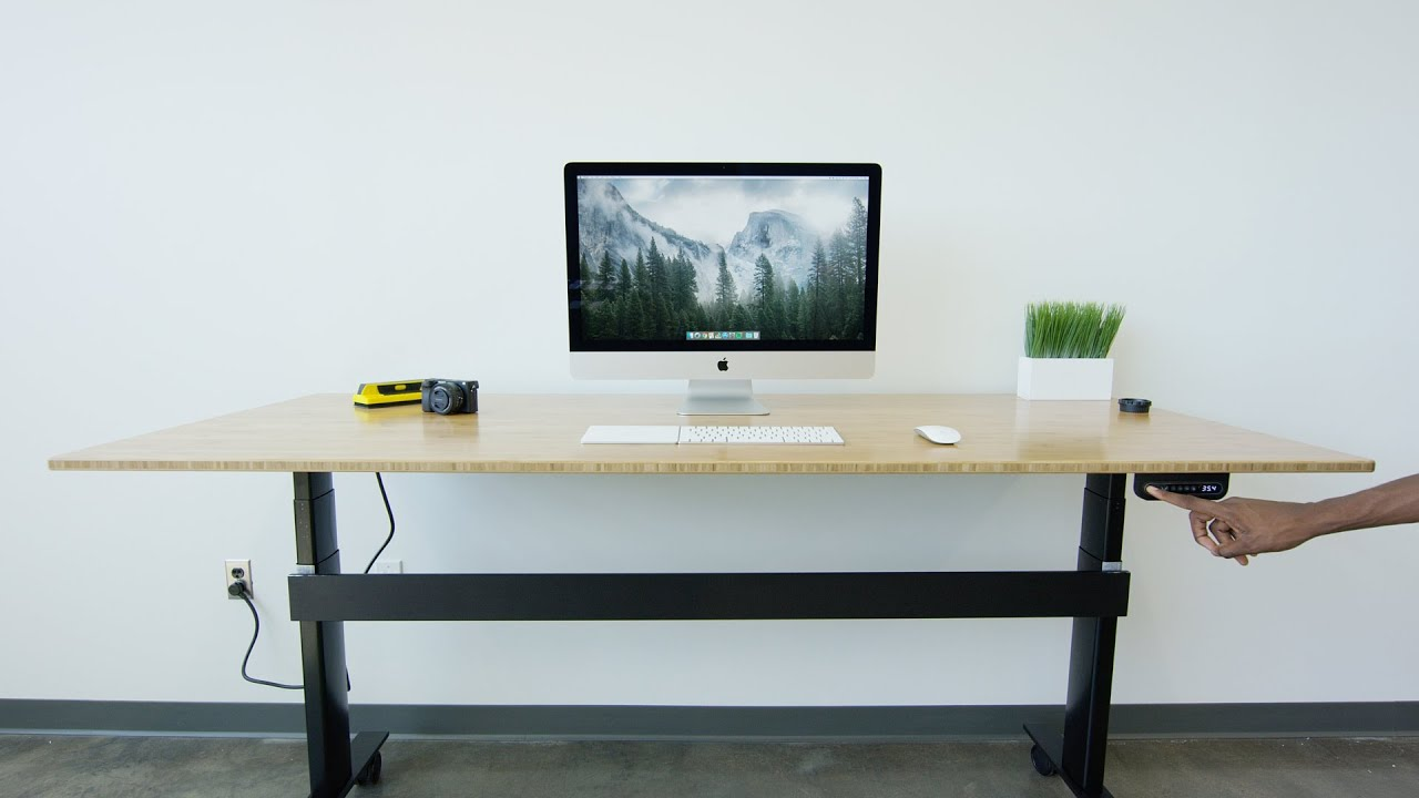 NextDesk Review Motorized Desk YouTube