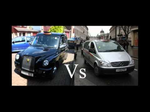 London Taxi Black Cabs - Mercedes Vito Vs The LTI/LTC TX - The public's opinion (no1)