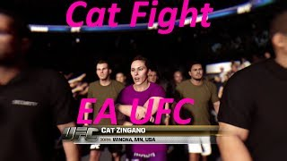 ea sports ufc girl fights gameplay