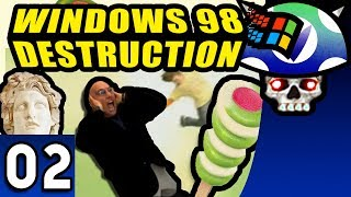 [Vinesauce] Joel - Windows 98 Destruction ( Part 2 )