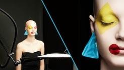 Photo Deconstruction: 1-light Beauty Setup with Graphic Makeup