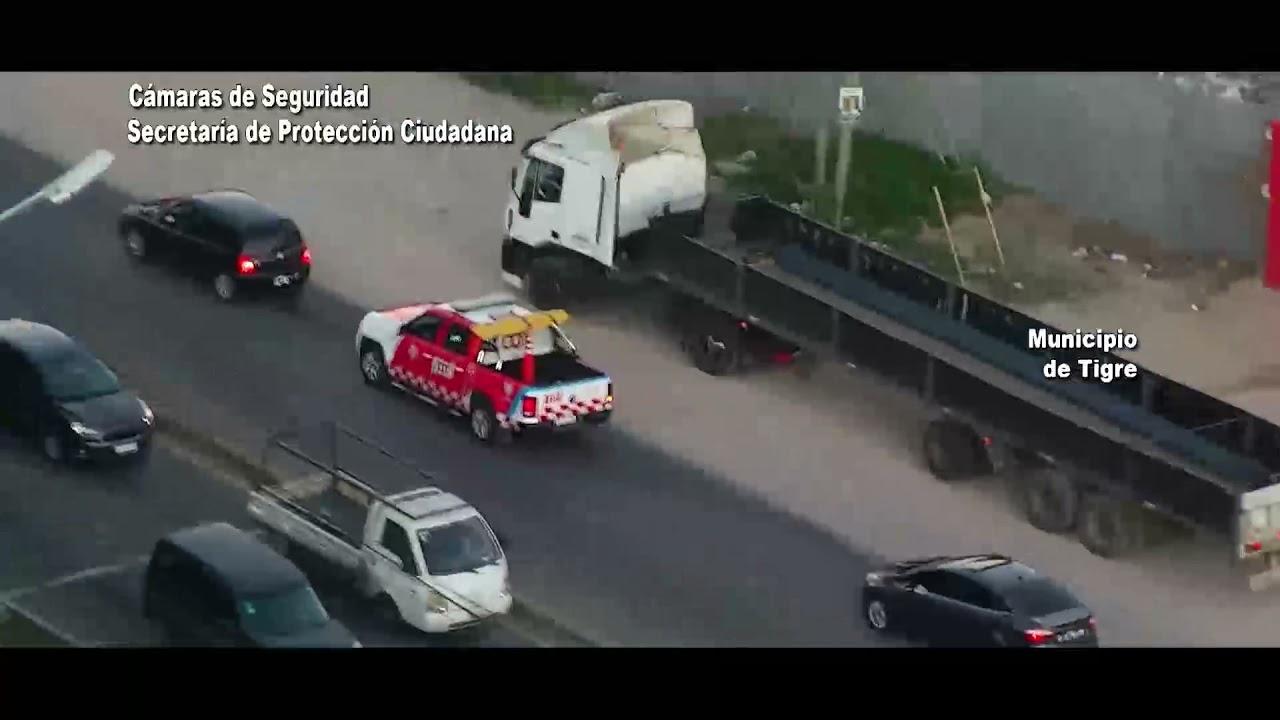 BUS.CA.DO.R: el COT detuvo a dos sujetos armados a bordo de un vehículo con pedido de captura