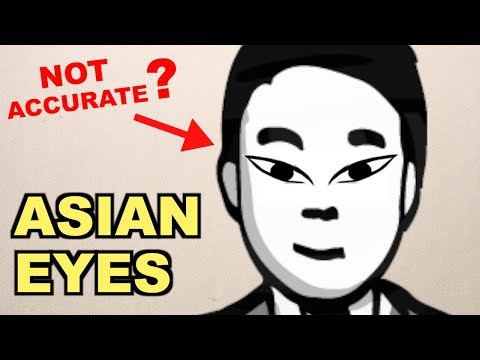 What Kind of 'Asian Eyes' Do You Have?  (Test Yourself)