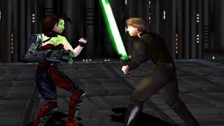 First 30 Minutes: Star Wars: Masters of Teräs Käsi [PS1]